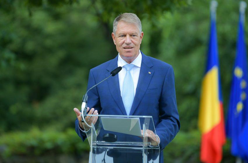 Președintele Klaus Iohannis: 'Sunt în asentimentul oamenilor de afaceri din România care susțin, pe bună dreptate, nevoia de stabilitate și predictibilitate'