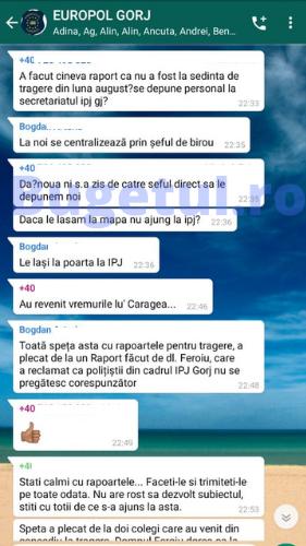 Discuții pe grupurile de WhatsApp ale Poliției Române. Cazul suspect al polițistului-campion de la Trupele Speciale, care acuză că fost executat de cei pe care îi pregătea