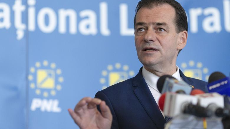 Ludovic Orban, ieșire în forță: 'Pe mine nu mă sprijină nimeni din exteriorul PNL. Președintele n-are voie să aibă o datorie față de nimeni din exteriorul PNL'